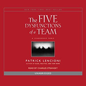 The Five Dysfunctions of a Team Audiobook