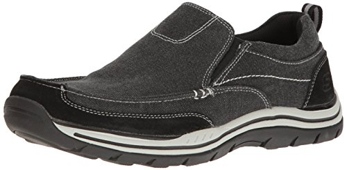 Nero Uomo Expected Skechers Tomen Mocassini zSR1Iq