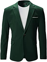Amazon.com: Green - Sport Coats & Blazers / Suits & Sport Coats