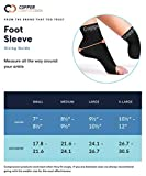 Copper Compression Recovery Foot Sleeves - Ankle