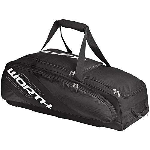 Worth Coach and Catcher Travel Equipment Bag, Black