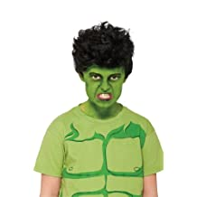 Rubies Costume Marvel Universe Classic Collection Avengers Assemble Child Size Incredible Hulk Wig