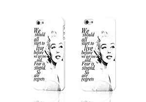 THYde Marilyn Monroe Quote D Rough Case Skin, fashion design image custom , durable hard D case cover for iPhone 6 plus 5.5 , Case New Design By Codystore ending