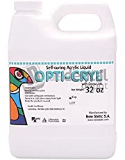 Opticryl Dental - Self Cure Monomer Only 32oz/Quarter Gallon (Acrylic Resin Liquid) New Stetic [80021] veracryl - This product can only be shipped by ground transportation- 100248 Us Dental Depot