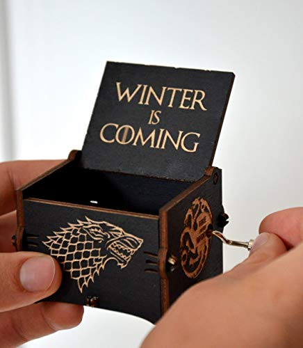 Music Lover Gift Wood Musical Box Main Theme Game Of Thrones Birthday For