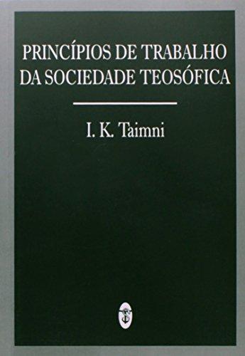 Principios De Trabalho Da Sociedade Teosofica