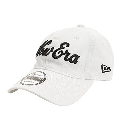 (ニューエラ) NEW ERA ゴルフ キャップ サイズ調整 9TWENTY ストレッチコットン ウォッシャブル オールドロゴ マイクロエラ ホワイト GOLF FREE (サイズ調整可能)