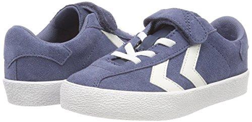Hummel Unisex-Kinder Diamant Jr Sneaker Blau (Vintage Indigo)