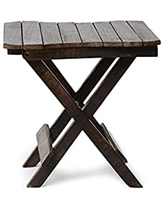 Craftatoz Multipurpose Wooden Folding Table, Table for Living Room Size- (LxBxH-15x15x15) inch
