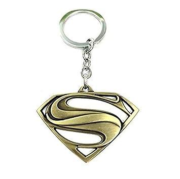 Superman Logo DC cómics de superhéroes Carácter llavero de ...