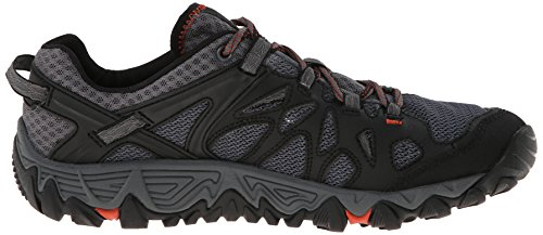Merrell Men's All Out Blaze Aero Sport Hiking Water Shoe, Black/Red, 7.5 M US by Merrell (Image #7)