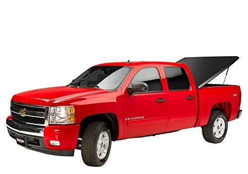 UnderCover Classic One Piece Truck Bed Tonneau Cover   UC1110   fits 2014-2018 Chevrolet Silverado & 2019 Legacy 5.8ft Crew/Ext Cab (2014 1500 Only, 2015-2019 1500,2500, 3500)