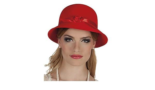 8208396fc85dd Boland - Sombrero para disfraz de adulto Charleston (4310)  Amazon.es   Juguetes y juegos