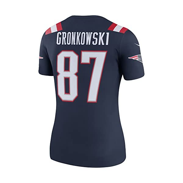 quality design 8ea9c 515e2 NIKE Women's New England Patriots Rob Gronkowski #87 Color Rush Legend  Football Jersey Navy/Red/White 845815-422