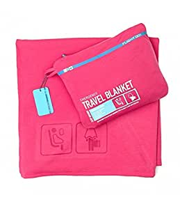 Emergency Travel Blanket - Pink