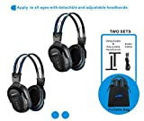 Best Infrared Headphones - 2 Pack of Wireless Car Headphones, Wireless Headphones Review