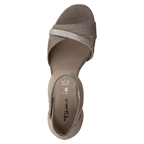 Tamaris 1-1-28305-28/346-346 - Sandalias de vestir de Piel para mujer PEPPER/GLAM
