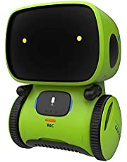 GILOBABY Robots for Kids, Educational Toys, Talking Interactive Voice Controlled Touch Sensor Smart Robotics with Singing, Dancing, Repeating, Speech Recognition and Voice Recording, Gift for Kids
