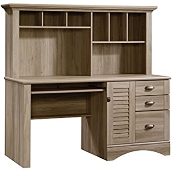 Amazoncom OneSpace 50LD0105 Essential Computer Desk Hutch with
