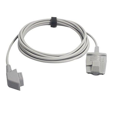 - Compatible Criticare CSI 975AD-10 Spo2 Sensor Adult Soft 9.8 ft 6 Pins Connector FDA/CE Approved