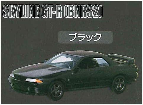 Cカークラフト 1/72スケール 日産 スカイライン GT-R編 Vol.2 [6.BNR32 GT-R ブラック](単品)