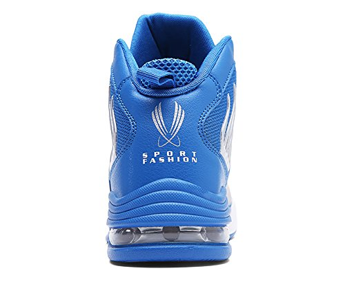 No.66 Mens Da Uomo Assorbimento Durto Da Corsa Scarpe Da Tennis Sneaker Scarpe Da Basket Azzurro