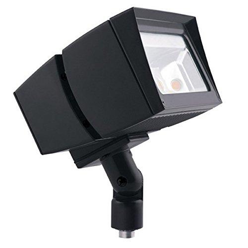 Rab FFLED80 Future Flood Series Rectangular LED Flood Light Fixture 80 Watt 120 - 277 Volt 5000K Arm Mount Bronze