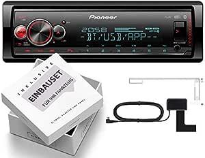 Pioneer MVH-S520DAB - Radio de Coche 1-DIN con Antena Dab con ...
