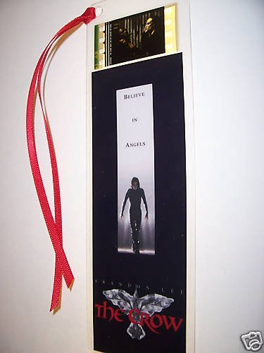 CROW Movie Film Cell Bookmark memorabilia Compliments poster dvd book