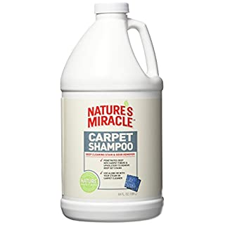 Nature's Miracle Carpet Shampoo 64 Ounces, Deep-Cleaning Stain And Odor Remover