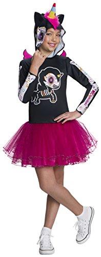 Rubie's Child's Tokidoki Costume, Dia De Los Muertos Caramelo Unicorno, Medium