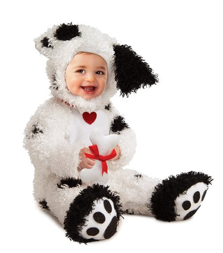 Rubie's Costume Co Dalmatian Costume, 12-18 Months (Dalmatian Halloween Costume For Baby)