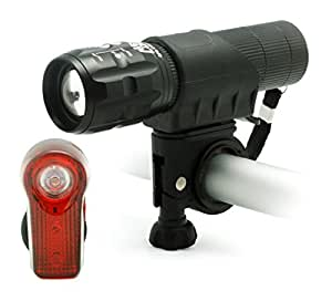 Amazon.com : MEETLOCKS USB Rechargeable Bike Torch, Super ...