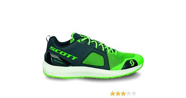 SCOTT RUNNING Zapatilla Palani SPT Black/Green 10 USA 7613317772213: Amazon.es: Deportes y aire libre