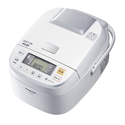 Panasonic variable pressure IH rice cookers (cook 1 bushel) White dance cook SR-PB185-W by Panasonic