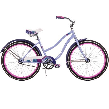 "Huffy 24"" Girls' Cranbrook Cruiser Bike 54456, Lilac"
