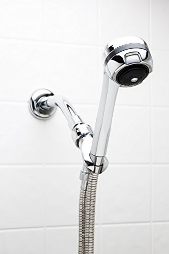 Best Low Water Pressure Handheld - The Original Fire Hydrant Spa Plaza Deluxe Massager with 59'' Stainless Stretch Hose by Take A Shower LLC