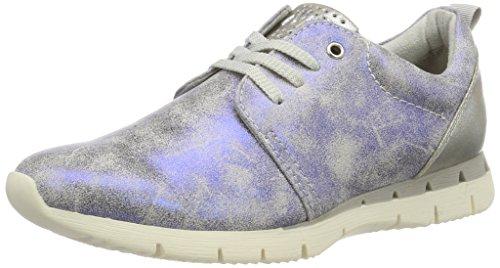 Marco Tozzi Women's 23700 Low-Top Sneakers Blue (Electric Blue 813) 6H4eUn