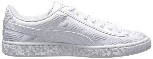 Cesto Da Donna Puma Classico In Metallo Bianco Sneaker Bianco