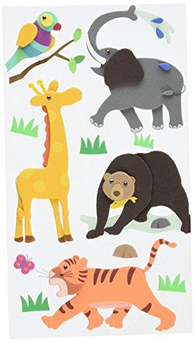 (Jolee's Layered Foam Stickers, Zoo)