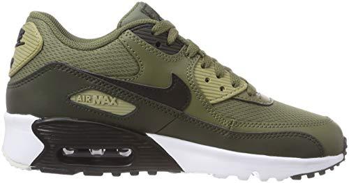 gs Scarpe Nike medium sequoia Bambino Max Olive Running 90 201 neutral Air Mesh Multicolore black Olive rqqX1I