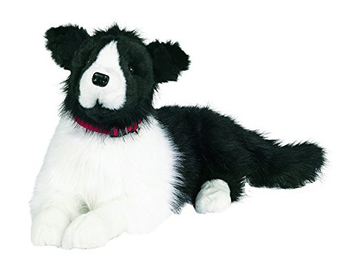 Ditz Designs Large Plush Realistic Stuffed Animal Border Collie Dog Hug ()
