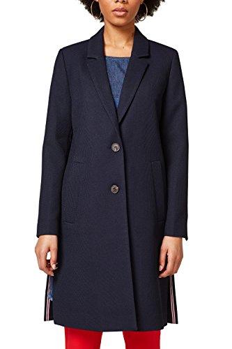 Esprit Wool (Esprit Women's Blazer Jacket Navy in Size Medium)