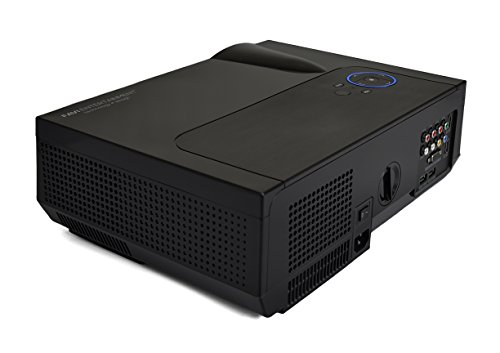 Premium Home Theater Projector By FAVI - Ultra Bright LED LCD - HD 720p Native Resolution - 4K Support - Built-In Speakers - Model No. RIOHDLED4T-US2 by FAVI (Image #2)
