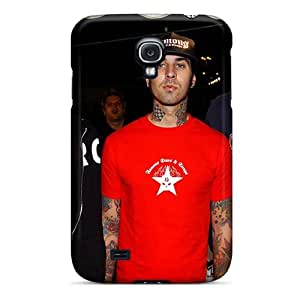 Anti-Scratch Hard Phone Cases For Samsung Galaxy S4 With Support Your Personal Customized High-definition Blink 182 Band Pattern AaronBlanchette