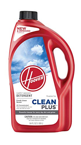 Hoover CleanPlus Concentrated Solution Formula Carpet Cleaner and Deodorizer