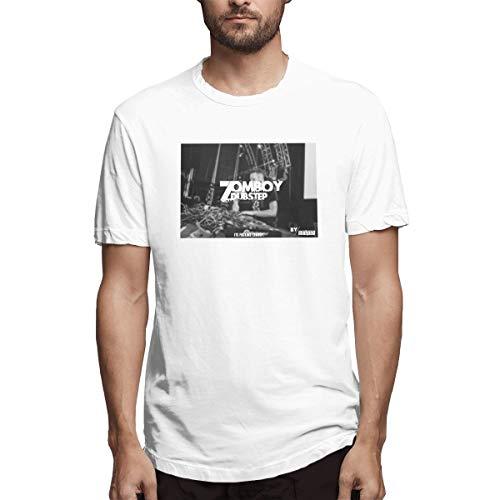 Fnh Electronic Music Songs Zomboy Concert Men's T Shirts XXL -