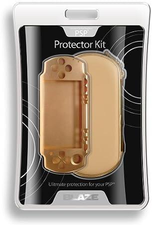 PSP 3000 color dorado metálico de pantalla Kit por Blaze: Amazon.es: Informática