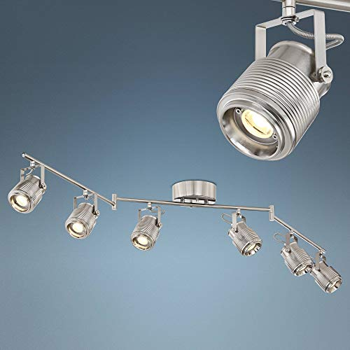 - Pro Track Ripple 6-Light Satin Nickel LED Track Kit Light - Pro Track