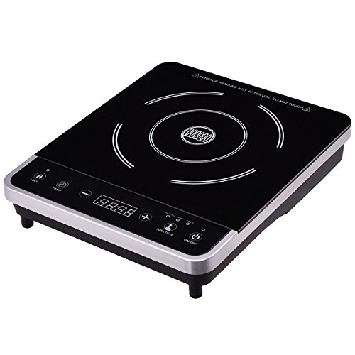 New Cooker Single Burner Digital Hot Plate Cooktop Countertop Electric (Play Dry Diamond)